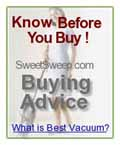 Don't Know What to Buy ?, Check Vacuum Buying Guide
