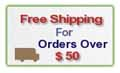 Free Shipping for Orders Over $50 -