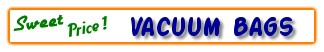 Best Shopping Place for Vacuum Bags..