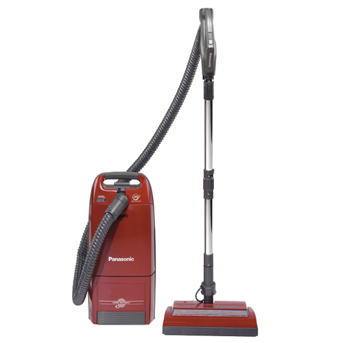 Panasonic Canister Vacuum -with mororized Power Nozzle- Best Value.